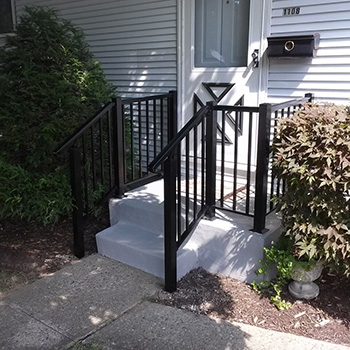 Schuell Handrails Home House Fence Quality Chain and Rail Fences in South Bend, Indiana