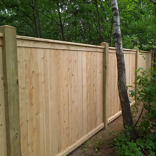 Schuell Residential Wood Privacy Vinyl Fence Quality Chain and Rail Fences in South Bend, Indiana